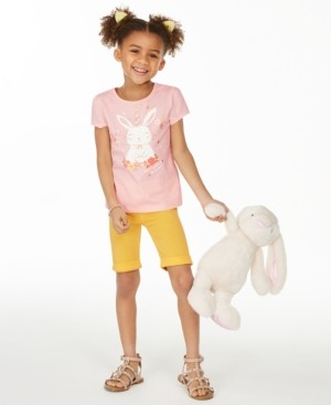 Epic Threads Little Girls Be Hoppy Graphic T-Shirt, Created for Macy's
