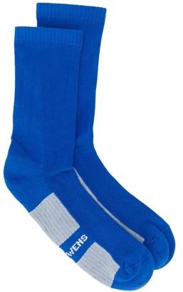 Rick Owens Logo Printed Ankle Socks