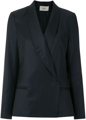 Egrey Side Buttoned Blazer
