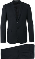 Emporio Armani flap pockets two-piece suit - men - Cupro/Wool - 48