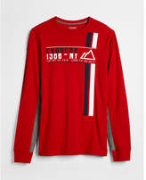 Express alpine chill long sleeve graphic tee