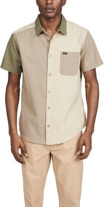 RVCA Short Sleeve Blocked Crushed Shirt