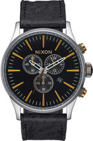 Nixon Sentry chronograph A405-2222-00 stainless steel watch
