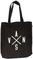 Vans Women's Rosette Canvas Shoulder Tote Bag-Black