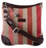 Longchamp Patent Leather-Trimmed Crossbody Bag
