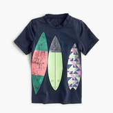 J.Crew Girls' rash guard with surfboard trio