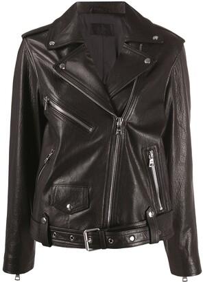 RtA faux leather biker jacket
