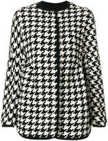 Ermanno Scervino houndstooth coat