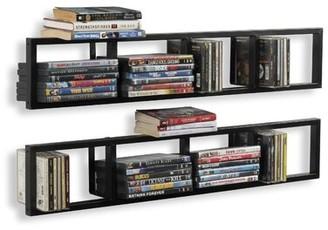 Latitude Run Multimedia Wall Mounted Media Storage