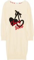 Sonia Rykiel Sonia by Intarsia cotton sweater dress