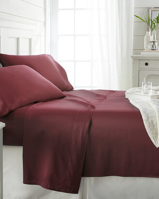 Home Collection Premium Bamboo 4Pc Luxury Bed Sheet Set