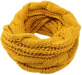 IvyFlair Unisex Winter Thick Chunky Cable Knit Infinity Loop Scarf