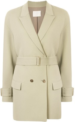 Dion Lee Cady cocoon coat