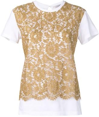Valentino heavy lace T-shirt