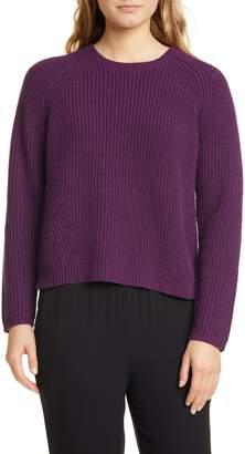 Eileen Fisher Cashmere & Wool Sweater