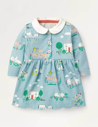 Boden Jersey Collared Dress