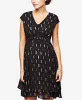 Collective Concepts Maternity Printed Dress