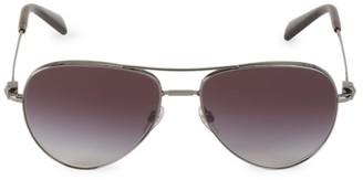 Valentino 57MM Aviator Sunglasses