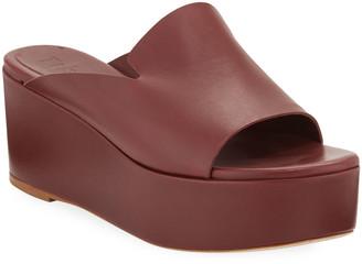 Tibi Dimitri Baby Calf Platform Sandals