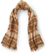 Ralph Lauren Plaid Blanket Scarf
