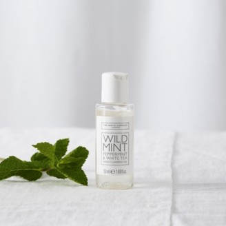 The White Company Wild Mint Hand Cleansing Gel, No Colour, One Size