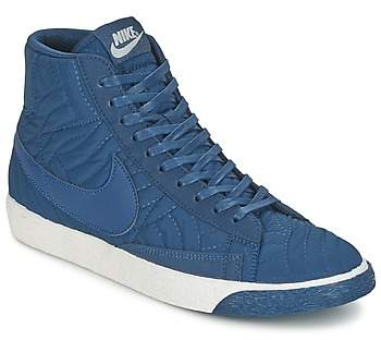 the latest 51376 7e79c BLAZER MID PREMIUM SE W women's Shoes (High-top Trainers) in Blue
