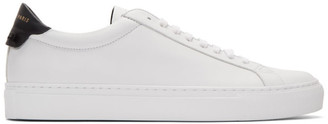 Givenchy White and Black Urban Street Sneakers