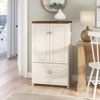 Beachcrest Home Oakridge 1 -Drawer Filing Storage Cabinet