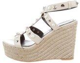Nicholas Kirkwood Espadrille Wedge Sandals