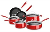 KitchenAid ; 10 Piece Aluminum Nonstick Cookware Set - KC2AS10
