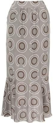Chanel Pre-Owned geometric print skirt