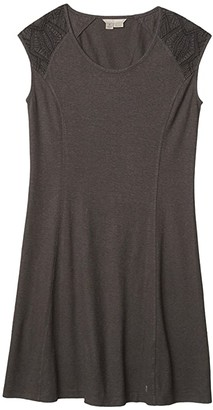 Royal Robbins Flynn Scoop Neck Dress (Light Taupe) Women's Clothing