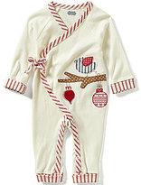 Mud Pie Baby Girls Newborn-9 Months Christmas Bird Kimono Coverall