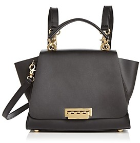 ZAC Zac Posen Eartha Iconic Top Handle Convertible Leather Backpack