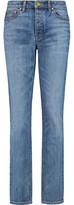 Tory Burch High-Rise Straight-Leg Jeans