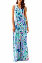 Lilly Pulitzer Delfina Maxi Wrap Dress
