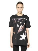 Givenchy Printed Cotton Jersey T-Shirt