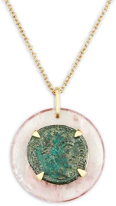 Dubini 18k Constantine Medallion Necklace