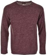 Nudie Jeans Vladimir Knit Jumper Red