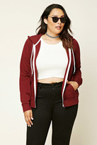 Forever 21 Plus Size Zip-Up Hoodie
