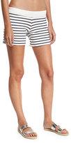 CHRLDR Striped Fleece Coverup Shorts
