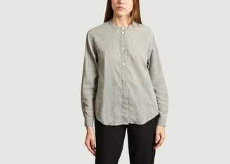 Folk Grandad Blouse - 3