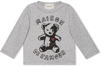 Gucci Kids teddy bear print T-shirt