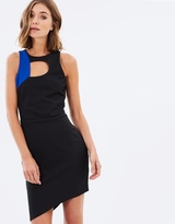 Miss Selfridge Colour Block SL Curve Dress