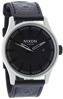 City Beach Nixon Sentry Stormtrooper Leather Watch
