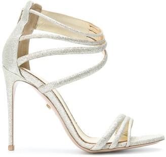 Le Silla Glitter 900mm Heel Strappy Sandals