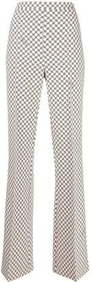 Elisabetta Franchi Monogram Tailored Trousers