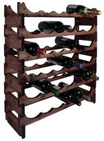 RtA 36 Bottle Dark Pine Modular Wine Rack