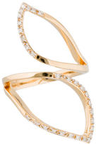Catherine Malandrino Diamond Off Geometrics Ring