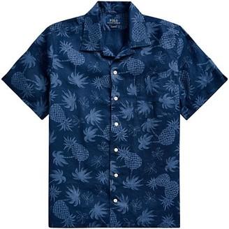 Polo Ralph Lauren Short-Sleeve Printed Linen Sport Shirt